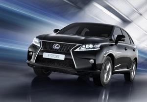 Lexus RX F SPORT вже в Україні