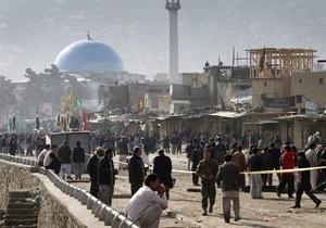 Двойной теракт в Афганистане: не менее 58 погибших