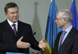 Янукович рассчитывает завершить переговоры об ассоциации с ЕС 19 декабря