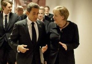 Меркель подарила плюшевого мишку дочери Саркози