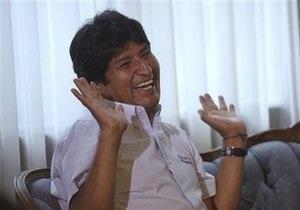 Эво Моралес переизбран президентом Боливии - exit-polls