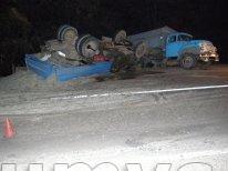 В Винницкой области ЗИЛ переехал лежащего на дороге пьяного местного жителя