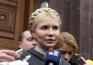 Тимошенко пришла на допрос: Я не буду прятаться в больнице или уезжать из страны