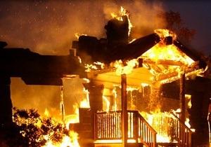 В Винницкой области сгорел сарай с 30 свиньями