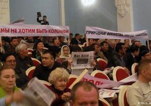 Оппозиция Казахстана выступает против интеграции с Россией