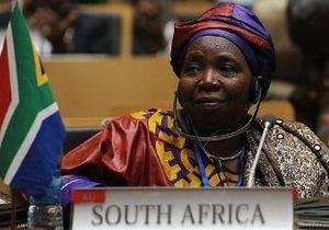 Впервые женщина возглавила комиссию африканского союза