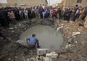 Жертвами взрыва во дворе багдадской школы стали восемь человек