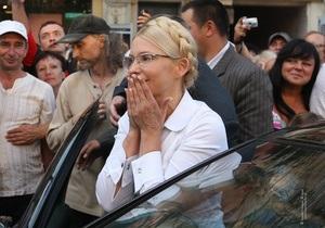 Суд по делу Тимошенко перенесли на 1 августа