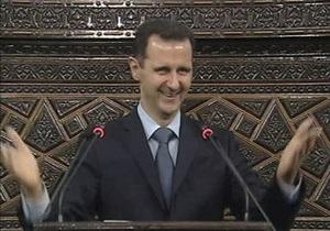 Президент Сирии пообещал продолжить реформы, несмотря на  большой заговор