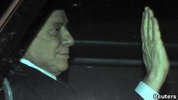 Берлускони может вызвать на свой процесс Клуни и Роналду