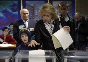 Печати  выбыл  напротив Свободы зафиксированы в бюллетенях на 30 участках - КИУ