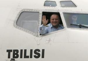 Грузинский чартер совершил первый за два года рейс в Россию