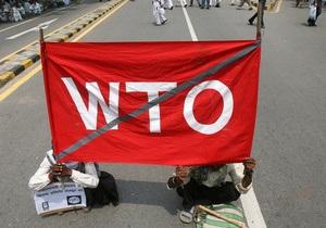 Заявку на переговоры с Украиной в рамках пересмотра условий ее членства в ВТО подали 15 стран
