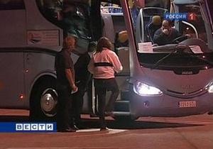 В Турции автобус с предположительно российскими туристами упал в реку: более 10 погибших
