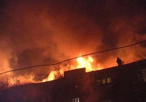 В центре Харькова произошел пожар: эвакуированы 40 человек