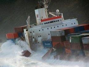 МИД: Украинские моряки в столкновении контейнеровозов в Голландии не пострадали