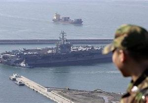 США и Южная Корея начали совместные морские учения