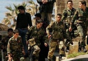 При попытке дезертировать из сирийской армии погибли не менее 60 военных