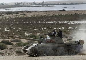 Повстанцы отразили атаку войск Каддафи на Мисрату
