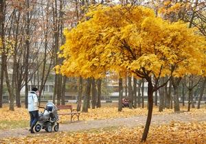 В Украине установилась аномально теплая погода