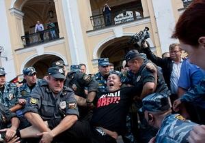 Россия: десятки участников акции Стратегия-31 задержаны полицией