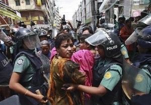 Массовая забастовка в Бангладеш: арестовано более 200 человек