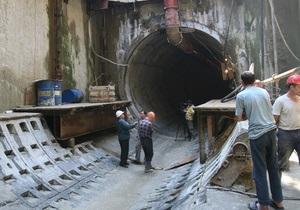 На строительство 31 новой станции киевского метрополитена необходимо 35 млрд грн