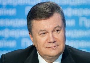 Янукович - декларация - Антикоррупционный совет требует проверки декларации Януковича