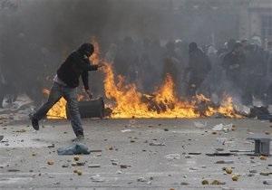 В Афинах во время беспорядков пострадали 20 человек