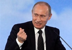 Снижение цены на российский газ: Путин развеял надежды Азарова