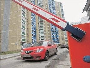 В центре Киева избили парковщика