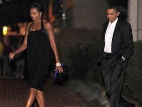 Обама отпраздновал со своей женой 17-летие супружества