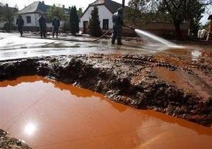 В Венгрии готовятся к повторной утечке токсичных отходов