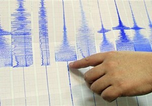 У берегов Папуа - Новой Гвинеи произошло сильное землетрясение