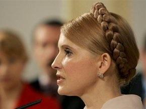 Тимошенко выступает за частичную национализацию проблемных банков