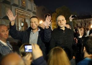 Лидеры российской оппозиции вышли на свободу