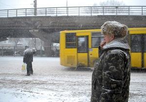 В Украине из-за непогоды отменили десятки рейсов на автобусных маршрутах