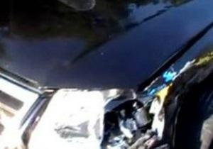 Дорожный контроль: Гаишники сняли номера и госсимволику с патрульной машины, попавшей в ДТП