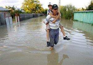 новости Киева - наводнение - потоп - В Киеве за вчерашний день зафиксировано 14 мест подтоплений