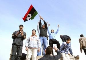 Ливийские повстанцы отвергли предложение войск Каддафи о перемирии