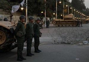 Новости Египта - массовые беспорядки в Египте: Армия блокировала Порт-Саид: в результате беспорядков погибли семеро человек