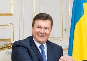 Янукович надеется на введение безвизового режима с ЕС до начала Евро-2012
