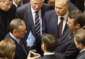 Партия регионов планирует уволить Тимошенко 3 марта