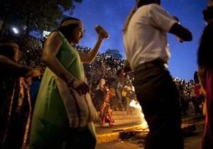 В Венесуэле индейцы провели ритуал за выздоровление Чавеса