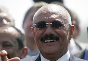 Президент Йемена Салех выступил с речью после нападения
