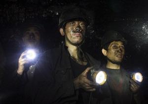 В Китае спасен шахтер после 11 суток пребывания под землей