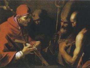 Из римской церкви украдена картина XVII века
