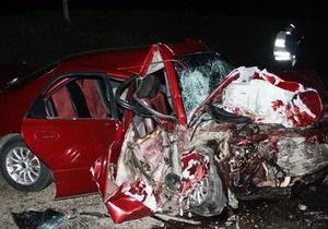 В Донецкой области произошло ДТП: трое погибших