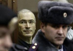 Суд счел показания Ходорковского свидетельством его вины