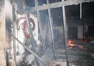 В Херсонской области в известном курортном поселке сгорело кафе и две гостиницы